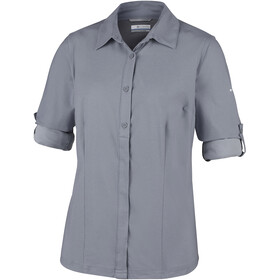 Columbia Saturday Trail - T-shirt manches longues Femme - gris